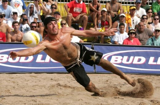 Aaron Wachtfogel in Manhattan Beach AVP