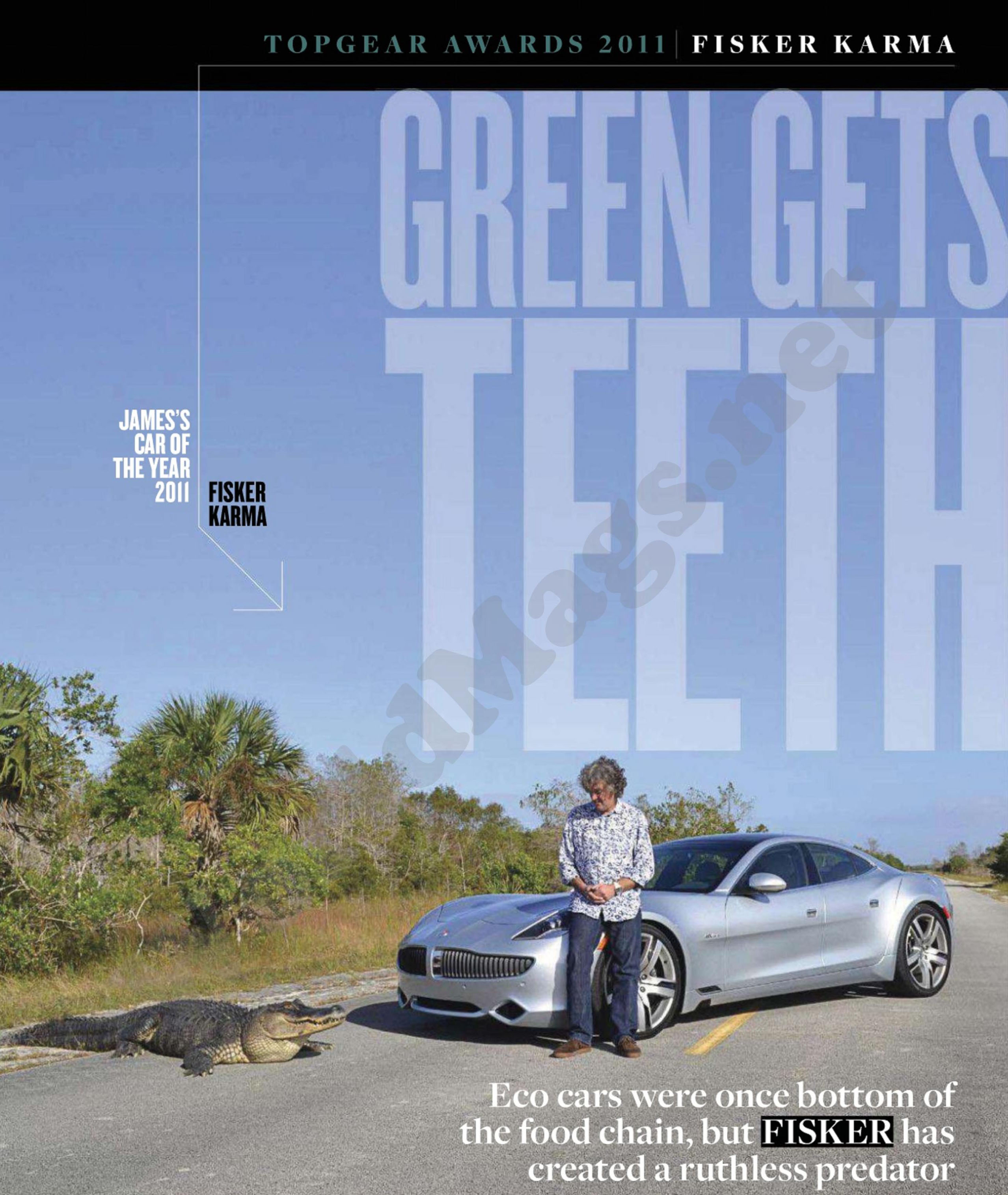 Fisker Karma Named 2011 Top Gear Magazine Luxury Car Of The Year