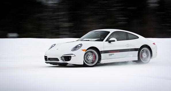 Porsche, 911, Canada, Snow, Camp4, Camp4S