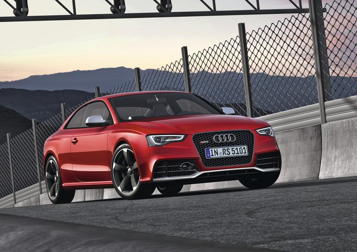 audi rs5 rounds out top ten most fuel efficient cars with. Black Bedroom Furniture Sets. Home Design Ideas