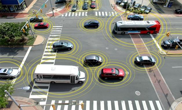 Toyota vehicle-2-vehicle communication