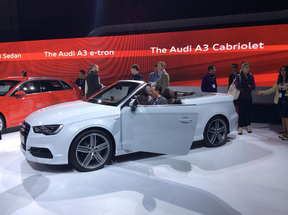 S3, Cabriolet, TFSI, TDI, LA, Auto Show