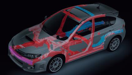 2015 Subaru WRX STI Frame