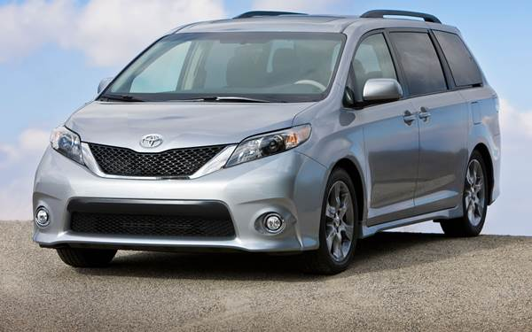 Superb 2015 Toyota Sienna