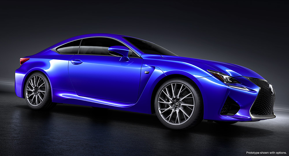 Types Of Lexus >> The All New Lexus Rc F Lacarguy