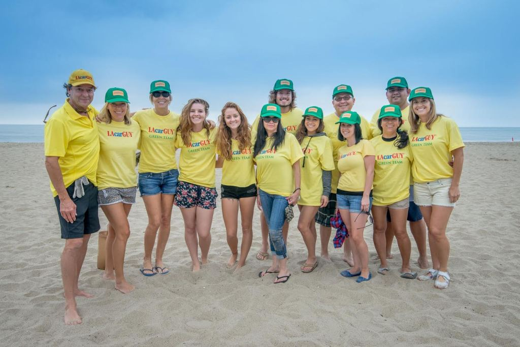 2014 lacarguy coastal cleanup team