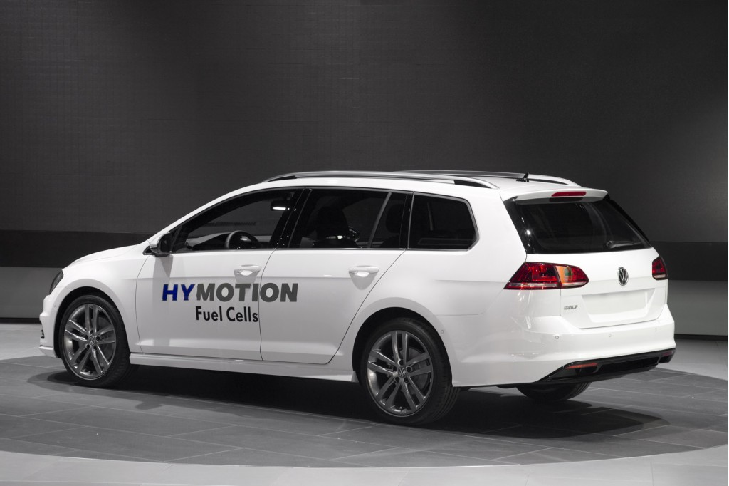 2015 VW Golf HyMotion concept