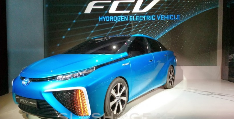 Toyota is Releasing Their Hydrogen Fueled Car Next Month